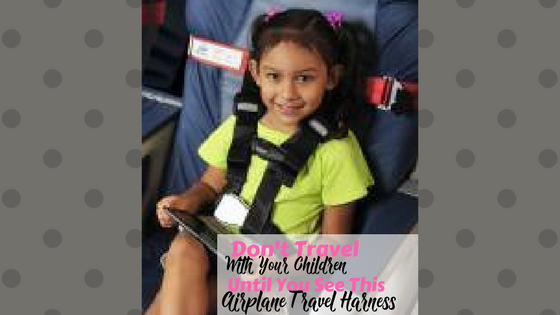 AIRPLANE TRAVEL HARNESS BABY GADGETS Image (1)