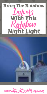 Rainbow bedroom night light image