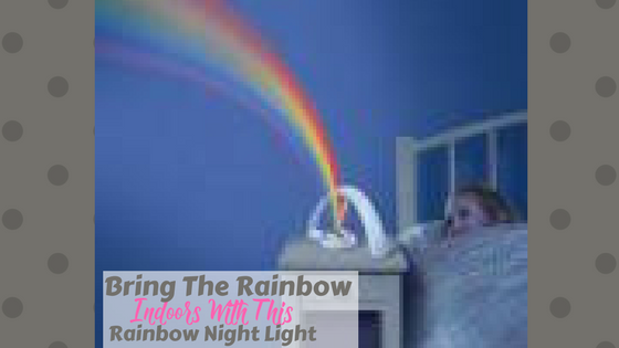 rainbow bedroom night light