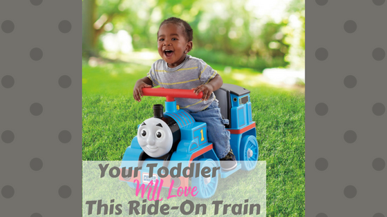 Super Cute Ride-On Train For Toddlers Image